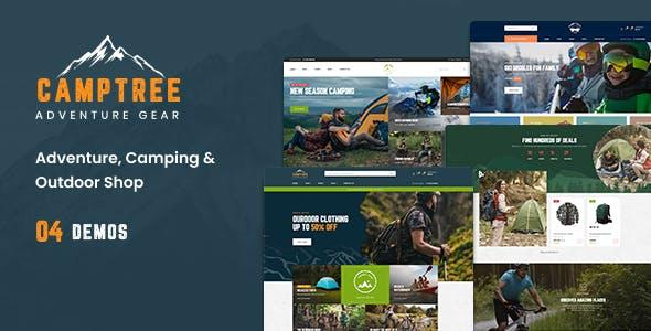 Leo Camptree - Camping & Outdoor Adventure Gear Prestashop Theme