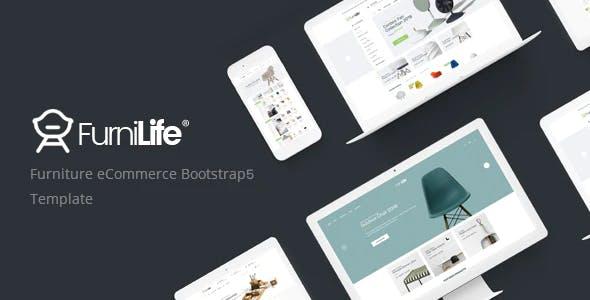 Furniture eCommerce HTML Template - Furnilife