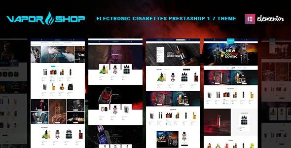 VaporShop - Electronic Cigarettes & Accessories Prestashop 1.7 Theme