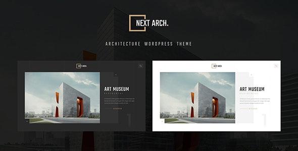 Next Arch - Creative Architecture WordPress - Business Corporate