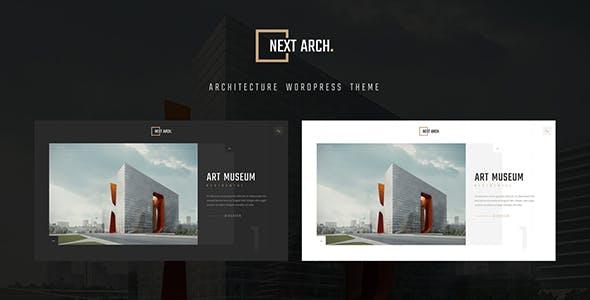 Next Arch - Creative Architecture WordPress