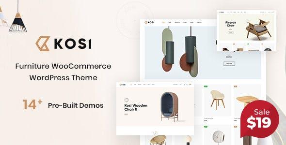 Kosi - Furniture WooCommerce WordPress Theme