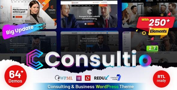 Consultio v2.7.0 – Consulting Corporate