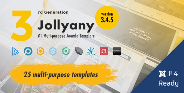 Jollyany | Multi-Purpose Joomla 4 Template