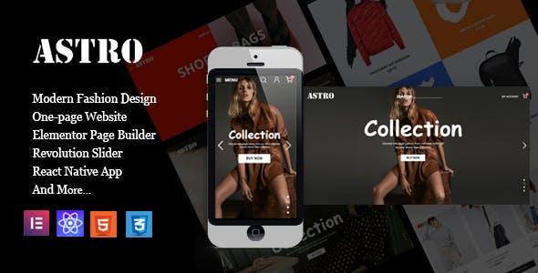 Azura - Fashion Store Prestashop Theme