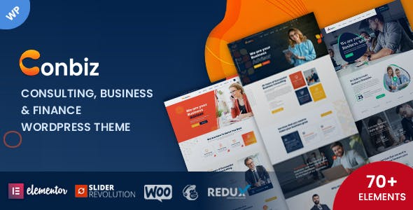 Conbiz – Business & Consulting WordPress Theme