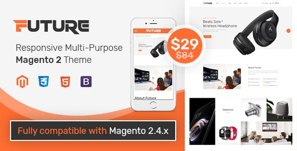 SM Future - Bright and Clean Magento 2 Theme for Trending Technology Stores