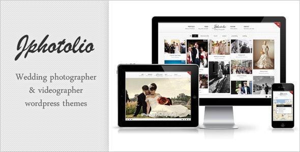 JPhotolio: Responsive Wedding Photography WP Theme - Photography Creative
