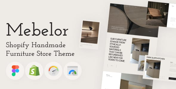 Mebelor - Shopify Handmade Furniture Store Theme, Home Interior