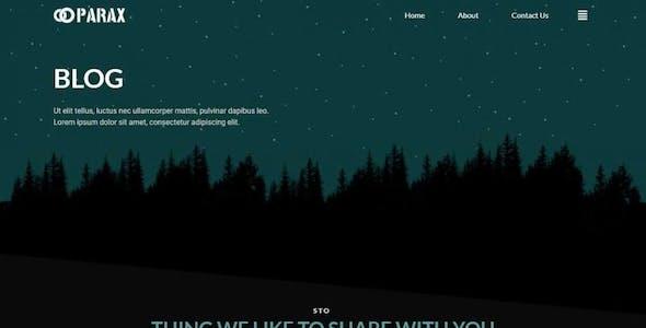 Parax - Creative Agency Elementor Template Kit
