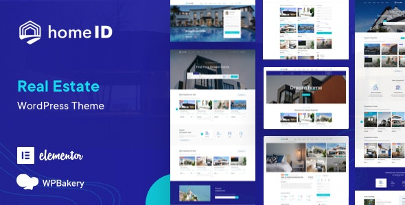 HomeID - Real Estate WordPress Theme - Real Estate WordPress
