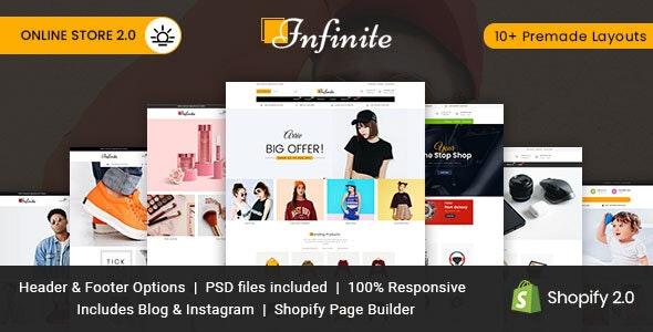 Infinite Multipurpose Shopify Theme - Fashion Shopify