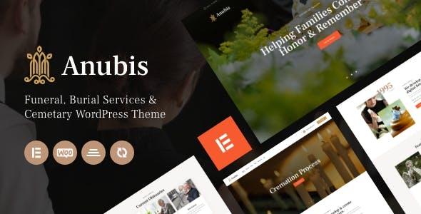 Anubis - Funeral & Burial Services WordPress Theme