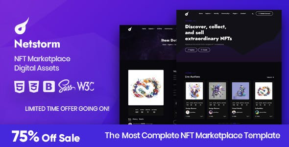 Netstorm - NFT Marketplace