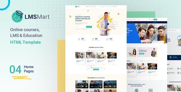 LMSMart – Education HTML Template