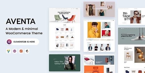 Aventa - Minimal WooCommerce theme