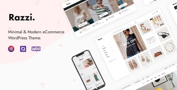 Razzi - WooCommerce WordPress Theme