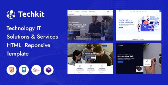 Techkit – Technology & IT Solutions HTML Template