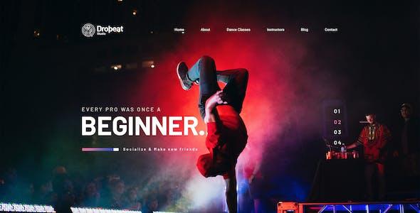 Dropbeat - Creative Dance Studio WordPress Theme