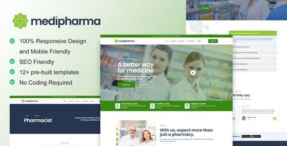 MediPharma - Pharmacy & Medical Elementor Template Kit