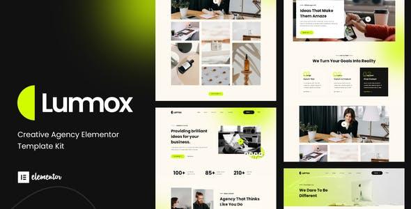 Lummox - Creative Agency Elementor Template Kit