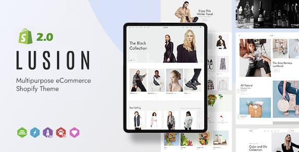 Lusion - Multipurpose eCommerce Shopify Theme