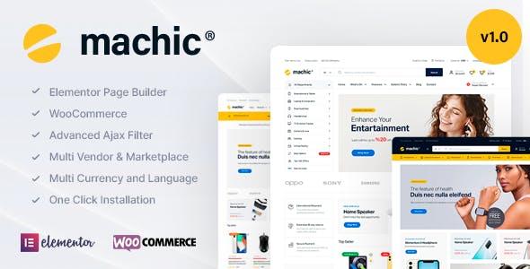 Machic - Electronics Store WooCommerce Theme
