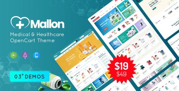 MallOn - Super Fast Medical & Healthcare Stores OpenCart Theme