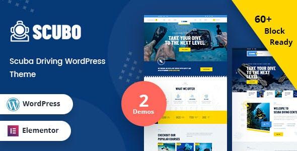 Scubo - Scuba Diving Centre WordPress Theme