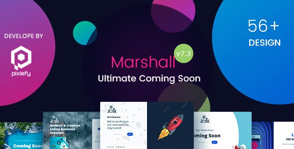 Marshall - The Ultimate Coming Soon Template