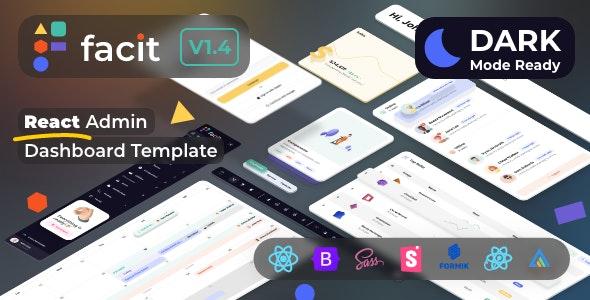 Facit   React Admin Dashboard Template - Admin Templates Site Templates