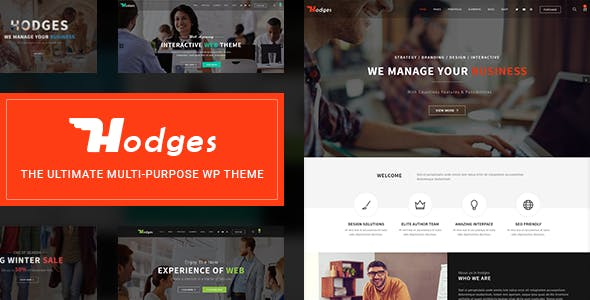 Hodges   Modern Business & Corporate Multi-Purpose WordPress Theme
