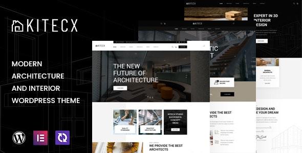 Kitecx - Architecture & Interior WordPress Theme - Business Corporate