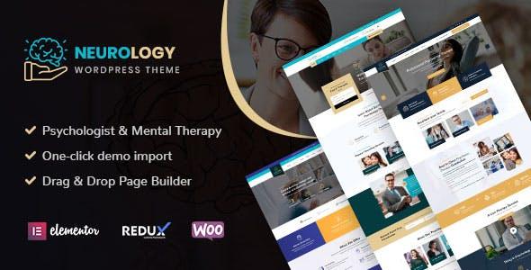 Neurology - Psychology & Counseling WordPress Theme