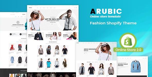 Fashion Shopify Theme - Arubic