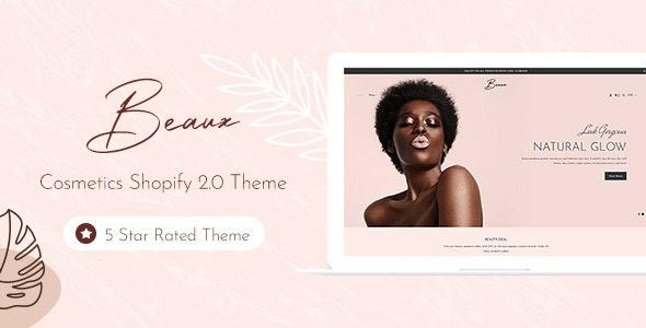 Beaux - Cosmetic Store Shopify Theme - Entertainment Shopify
