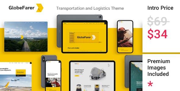 GlobeFarer - Transportation and Logistics Theme