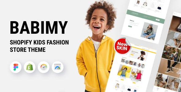 Babimy - Shopify Kids Fashion Store Theme