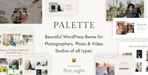 Palette — Photography Portfolio