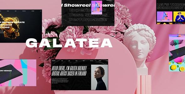 Galatea - Creative Portfolio WordPress Theme - Portfolio Creative