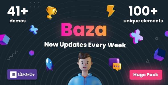 Baza - Creative MultiPurpose WordPress Theme
