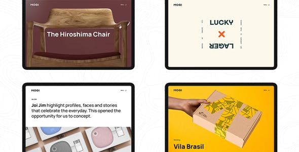 Mogi - A Creative Portfolio / Agency WordPress Theme