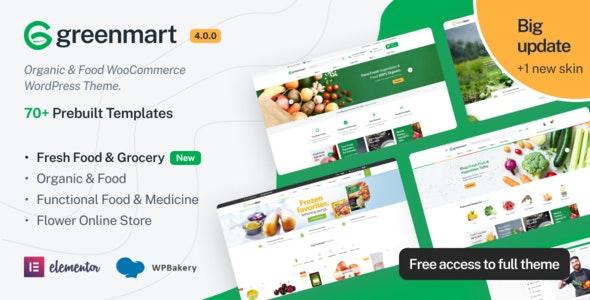 GreenMart – Organic & Food WooCommerce WordPress Theme - WooCommerce eCommerce