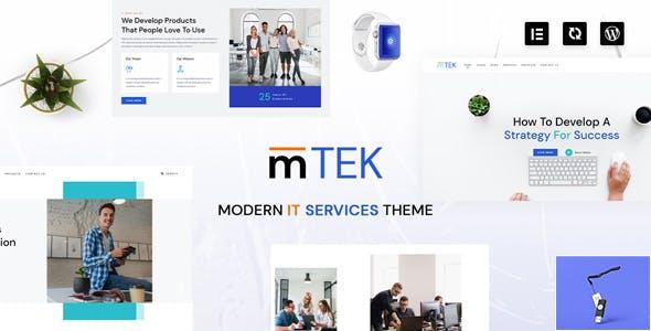 MightyTek | IT Services & Technology WordPress Theme