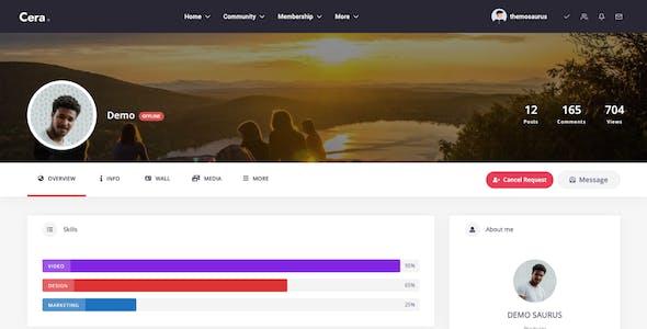 Cera - Intranet Document Sharing, Community Knowledge Base & E-learning Theme