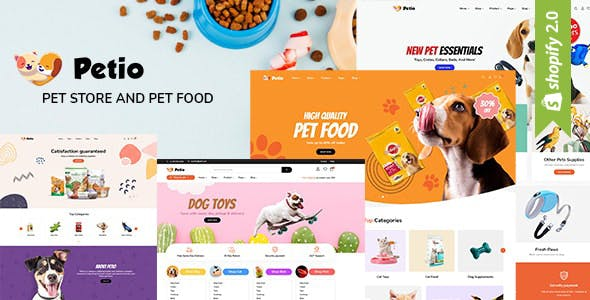 Petio - Multipurpose Shopify Sections All Pages