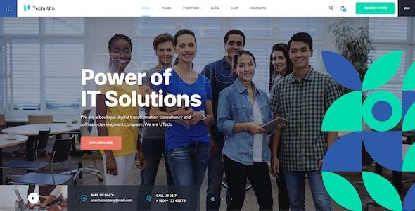 Technum | IT Solutions & Services WordPress Theme