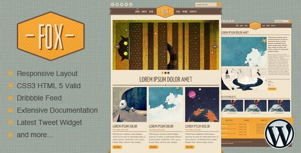 Fox - WordPress Theme - Portfolio Creative