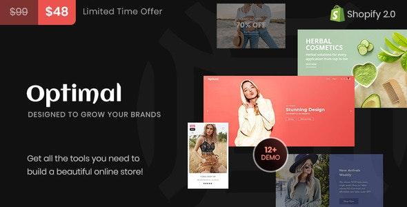 Optimal Multipurpose Shopify Theme - Fashion Shopify