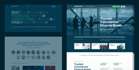 FinLab – Business, Consulting WordPress Theme